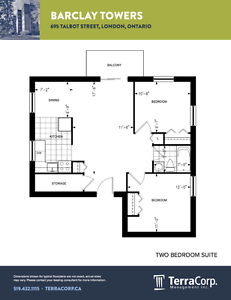 CORE 2 BEDROOM  AVAILABLE MARCH OR APRIL/PROMO! London Ontario image 11