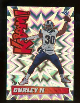 2019 Panini Absolute Kaboom! #KTG Todd Gurley II SP Case Hit