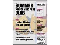 Summer Performing Arts Club Liverpool 🎭