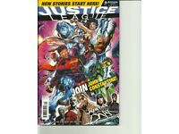 JOB LOT 10 DC UNIVERSE COMICS JUSTICE LEAGUE #s 49-55, 57-59 / POSTERS INCLUDED - can post