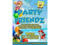 PARTY MASCOT EXPERIENCE