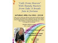 Calls from Heaven with Mandy Masters from Take a Breaks Fate & Fortune