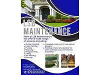 Gardening and maintenance services for domestic and commercial properties