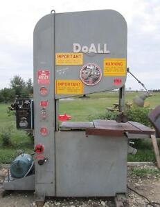 Doall Vertical Band Saw ZW-3620