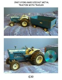 1970'S TRACTOR WITH TRAILER RARE
