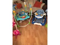 Finding nemo jumperoo and walker