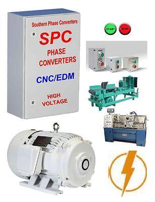 10 HP SPC Rotary Phase Converter CNC