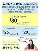Discover the value of small group study sessions
