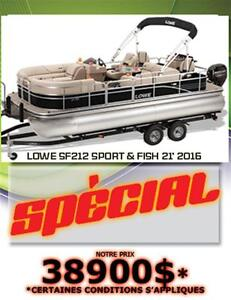 2016 lowe boats SF212 Sport & Fish XL Package 3 Quilles