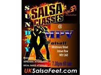 Sunday Salsa Classes in Walsall