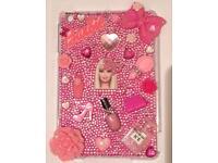 Handmade Barbie crystal Bling iPad mini 2/3 case