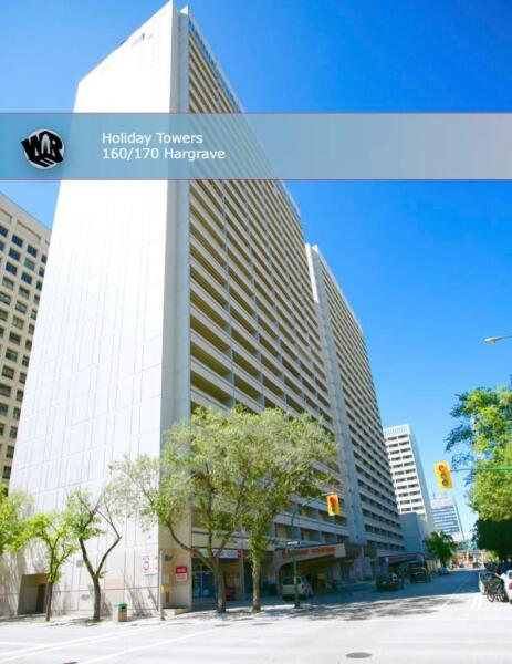 Holiday towers in the heart of downtown winnipeg 1 - One bedroom apartments in winnipeg ...