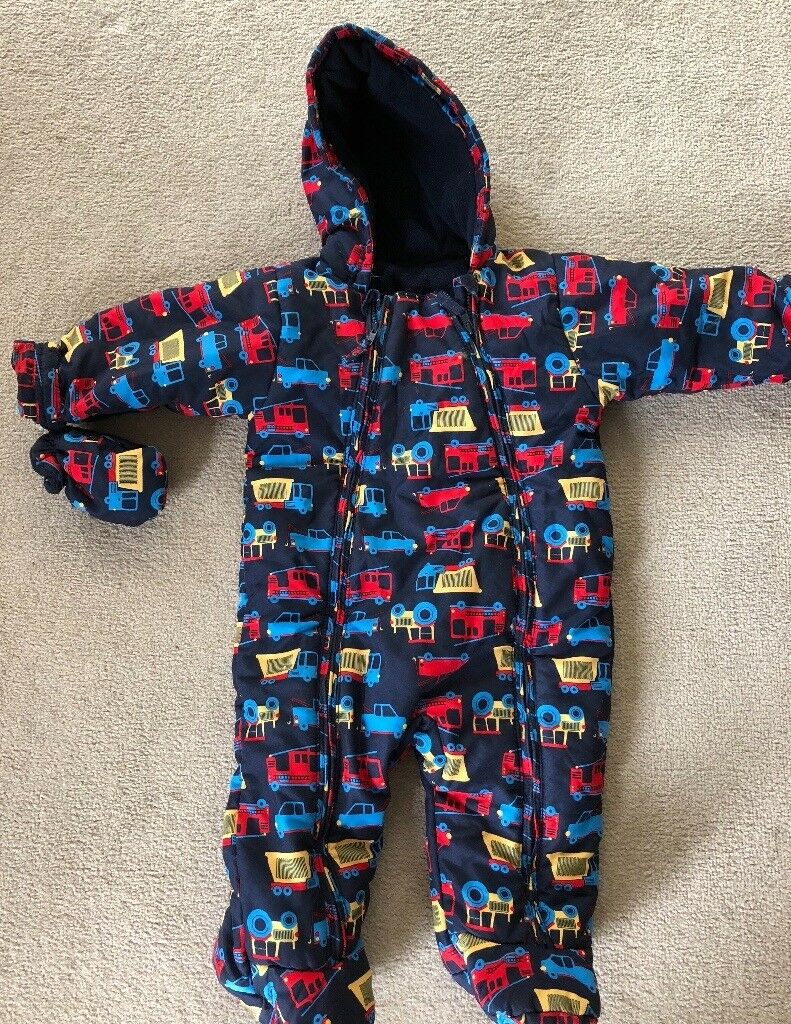 2430953839dd Baby boys snowsuit