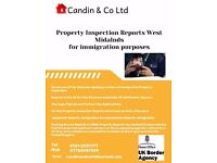 Property Inspection reports for Immigration Purposes