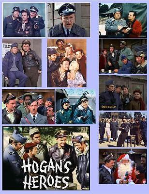 HOGAN'S HEROES, 12 PHOTO FRIDGE MAGNETS