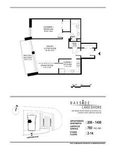 1 bedroom | November 1st| Pool | Gym | Garden | Doorman West Island Greater Montréal image 12