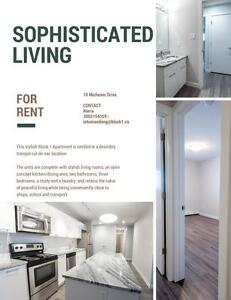 Renovated 2BR + 1 Month Free!