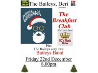 A Christmas night out at The Baileys, Deri