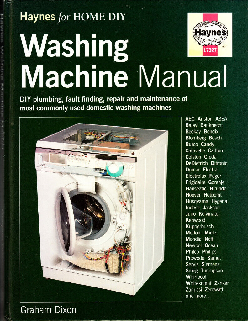 Haynes Washing Machine Manual For Diy Repairs In Stockport Manchester Gumtree