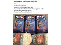 Huggies Nightime Pull Ups Size Large
