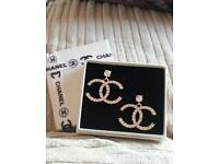 Stunning Chanel earrings.