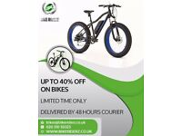 brand new bikes for adults and kids - sale now on up to 40% off