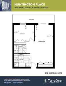 One Bedroom in Kitchener  -  near Westmount and Brybeck Kitchener / Waterloo Kitchener Area image 12