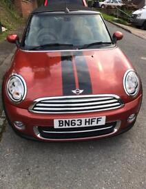 Mini Cooper Convertible 2013 1.6petrol low miles