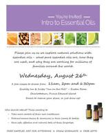 Come Learn Essential Oils - Free Class!