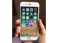 Good Condition iPhone 6S Silver Unlocked With Accessories