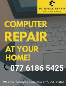 PC Mobile Repair/ Computer Services At Your Door Step