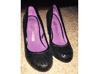 Size 5 sparkly heels (Sole Survivor - Next) BNWOT