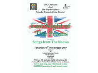 Sat 18th November 'Last night of The Proms' Band Concert, Chesham