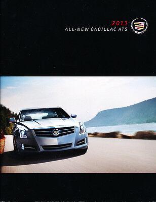 Brochure Catalog Guide - 2013 Cadillac ATS 50-page Grade-A Original Car Sales Brochure Catalog Guide