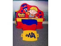 Bob the builder children's desk and chair