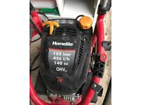 Homelite petrol pressure washer