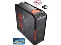 Gaming pc with Intel Core i5 - @3.4ghz 4th generation16gb ram 128ssd 3TB HDD