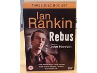 Ian Rankin's REBUS (John Hannah), boxed set of 3 DVDs