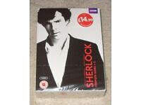 *NEW & SEALED* Sherlock - Complete BBC Series 1 2 3 (DVD Box Set)