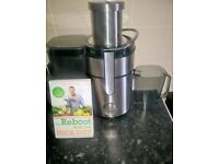 juicer machine with a free juicer and joe cross recipe's book for juicing