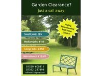 Fareham Garden clearance, Driveway, Patio Cleaning and Garden Services