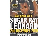 An Evening with Boxing legend SUGAR RAY LEONARD