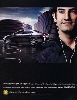 2006 Acura TSX - Best sport Sedan - Classic Car Advertisement Print Ad