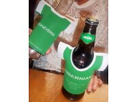 Hibernian cup winners BottleTops insulated bottle covers.