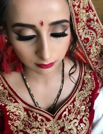 Southampton based Indian bridal hair & Make-up Artist