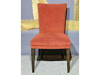 Ben Whistler Velvet Chair - Ex Display - RRP £530