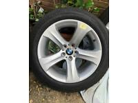 BMW X5/X6 Alloy Wheels with Tyres