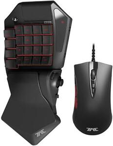 HORI Tactical Assault Commander Pro (TAC Pro) KeyPad and Mouse Controller for PS4 and PS3 FPS Games Officially Licensed