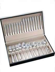 58 Piece Stainless Steel Canteen Cutlery Set