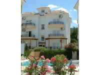 Lovely 3 bed apartment in Northern Cyprus from £250 per week.
